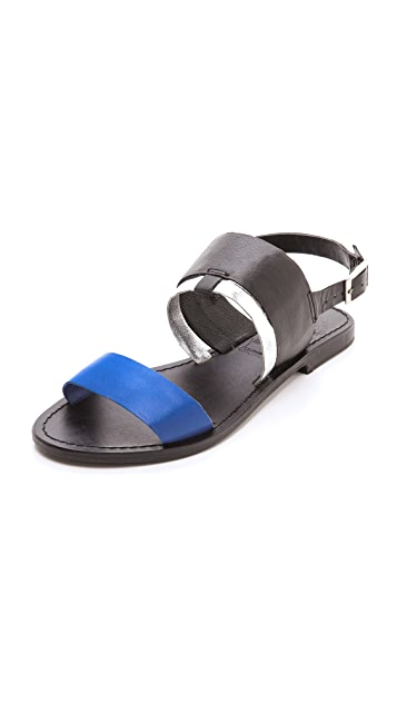 Sol Sana Ainslie Multicolor Flat Sandals