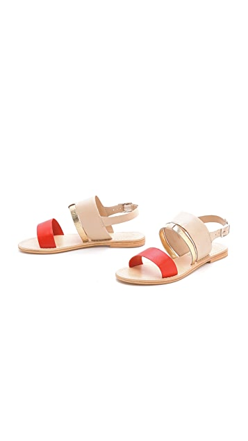 Sol Sana Ainslie Multicolor Flat Sandals