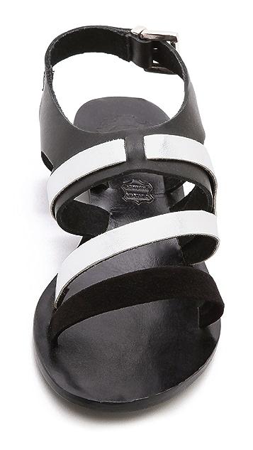 Sol Sana Asha Cross Strap Flat Sandals