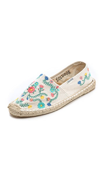 Soludos Traditional Embroidery Espadrilles