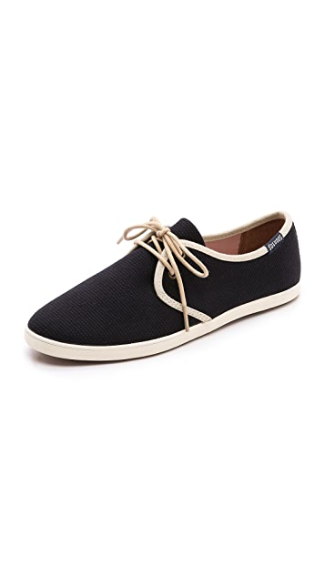 Soludos Classic Woven Derby Sneakers