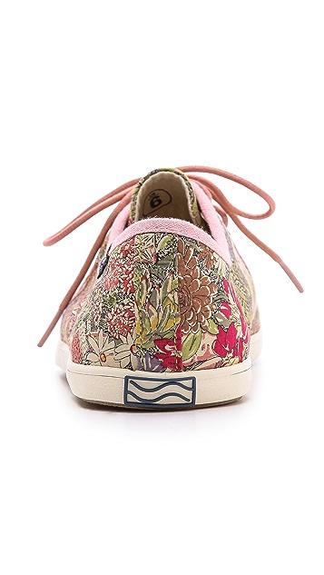 Soludos Floral Derby Sneakers