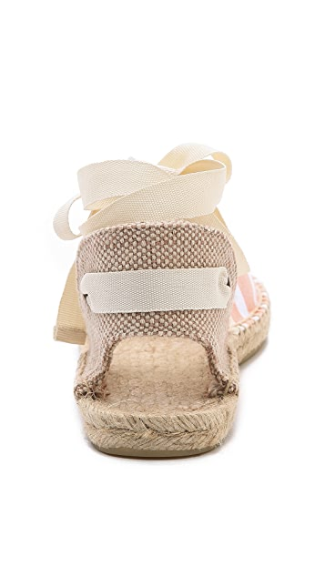 Soludos Stripe Sandals