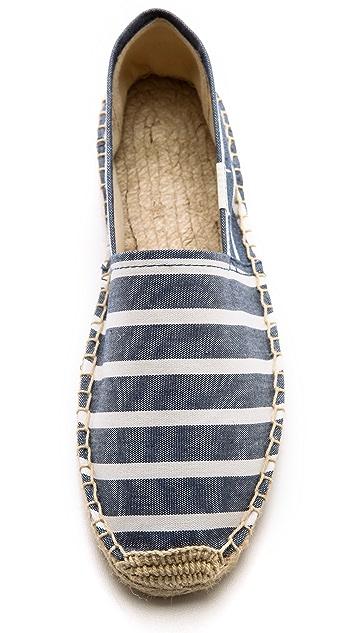 Soludos Classic Striped Espadrilles