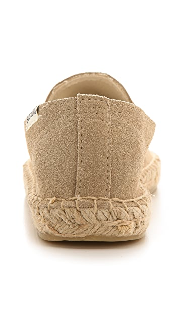 Soludos Suede Smoking Slippers