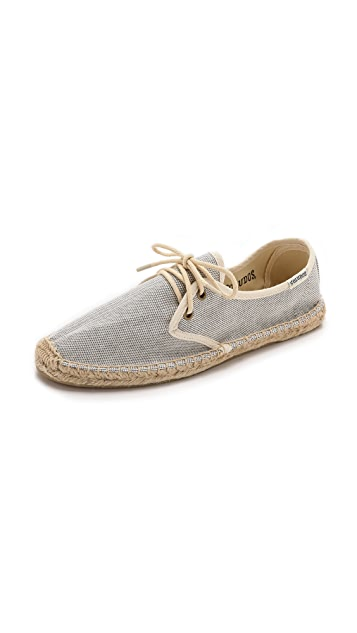 Soludos Derby Lace Up Espadrilles