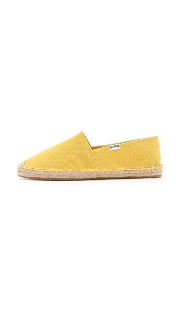 Soludos Dali Washed Canvas Espadrilles