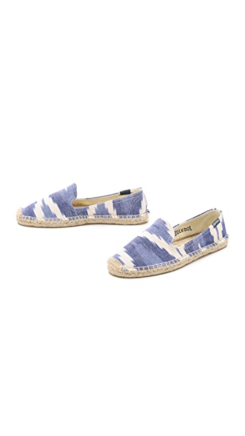 Soludos Ikat Smoking Slippers