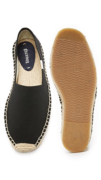Soludos Dali Canvas Slip On Espadrilles