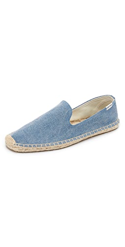 Soludos - Washed Canvas Smoking Slippers