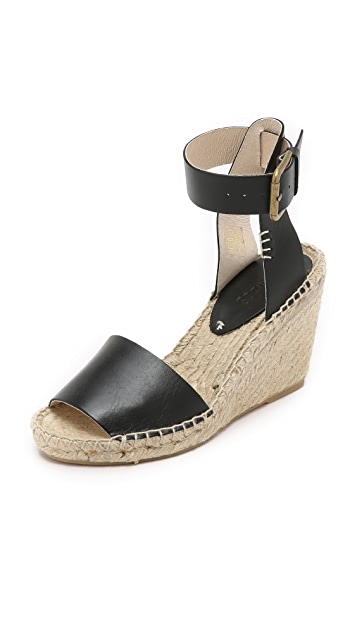 1303d708748f Soludos Open Toe Wedge Leather Espadrilles