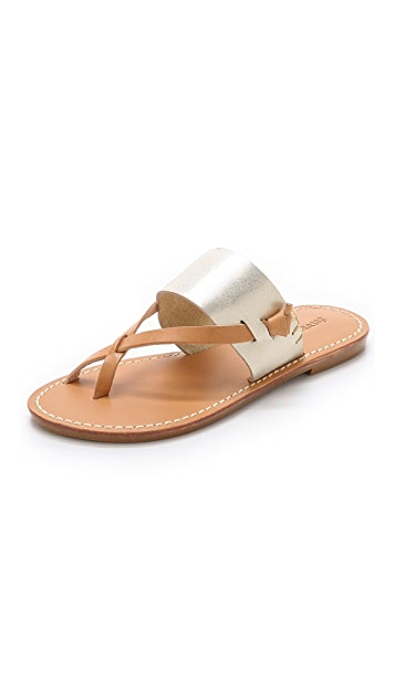 1081d375c1e1 Soludos Slotted Thong Sandals