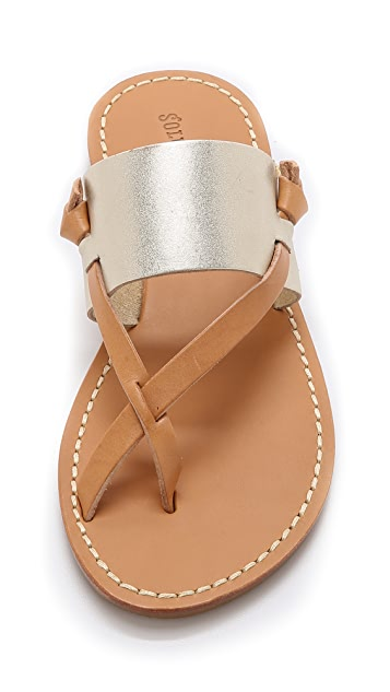 69e1fc8d8d3 ... Soludos Slotted Thong Sandals ...