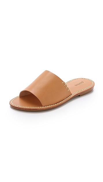 c4ca595c3491 Soludos Leather Slide Sandals