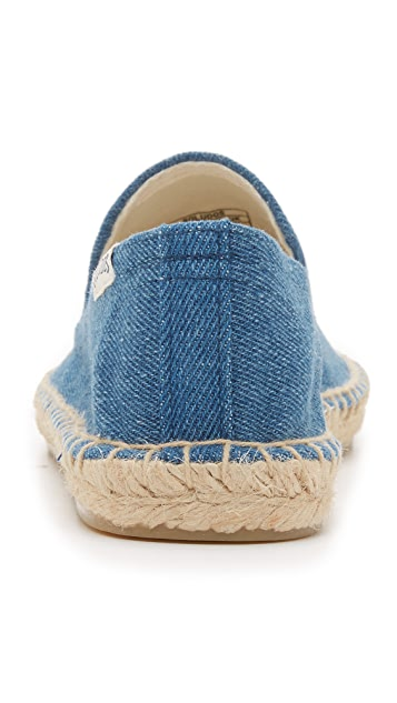 Soludos Pineapple Smoking Slipper Espadrilles