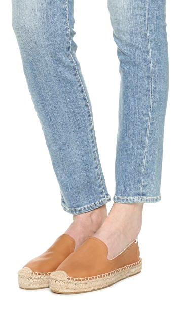 Soludos Platform Leather Espadrilles