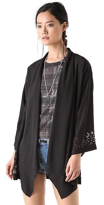 Something Else Laser Lace Jacket