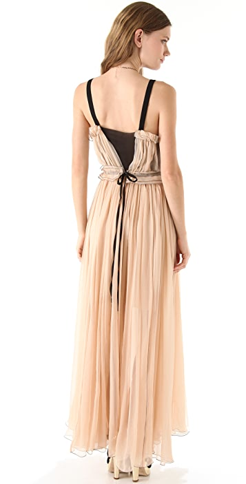 Sonia Rykiel Gown with V Insets