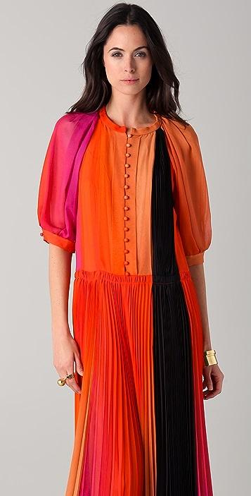 Sonia Rykiel Rainbow Impression Dress