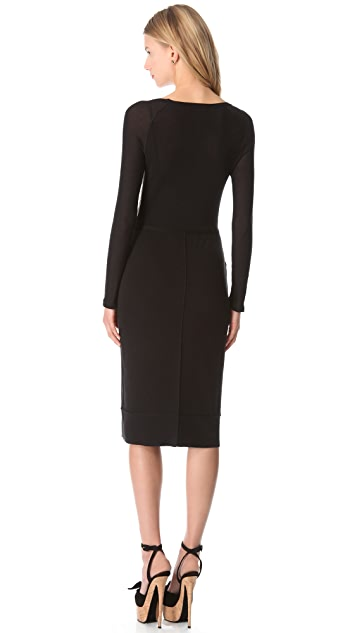 Sonia Rykiel Long Sleeve Dress