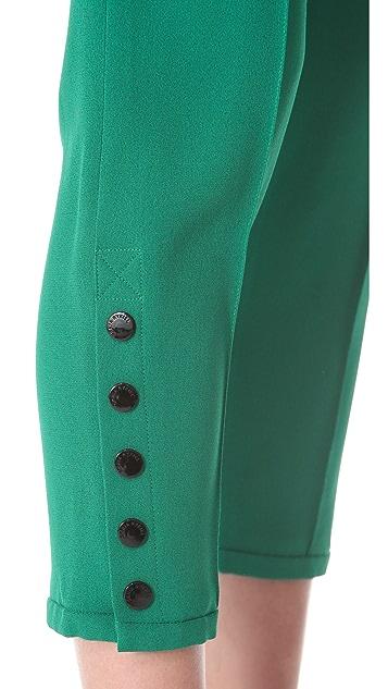 Sonia Rykiel Satin Crepe Trousers