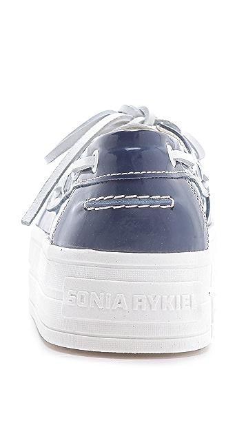 Sonia Rykiel Platform Boat Shoes