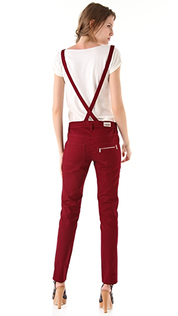 Sonia by Sonia Rykiel Pants with Removable Suspenders