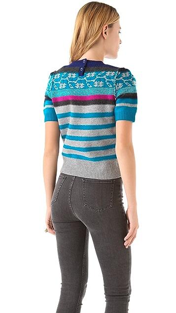 Sonia by Sonia Rykiel Fair Isle Sweater