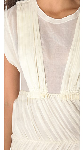 Sonia by Sonia Rykiel Cotton Voile Dress