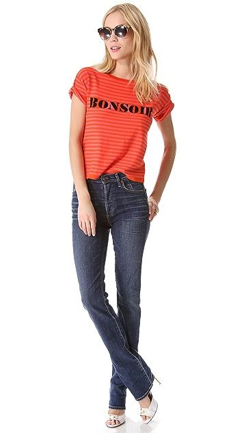 Sonia by Sonia Rykiel Bonsoir Stripe Sweater