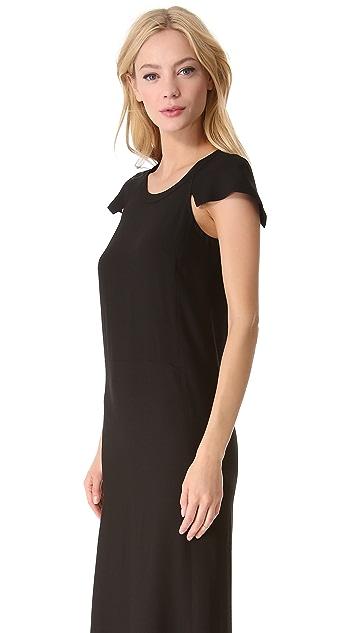 Sonia by Sonia Rykiel Cap Sleeve Maxi Dress