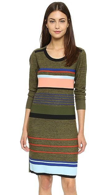 f821227a0c Sonia by Sonia Rykiel Multi Striped Sweater Dress | SHOPBOP