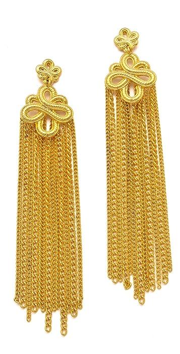 Soo Ihn Kim Portia Knot Earrings