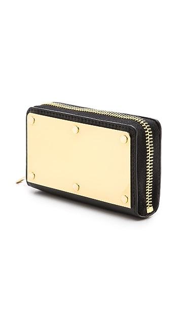 Sophie Hulme Gold Box Wallet