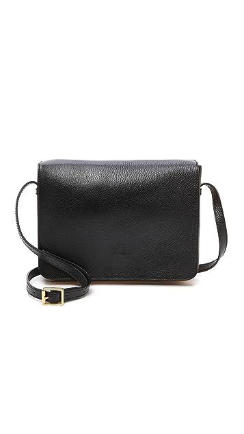 Sophie Hulme Square Satchel Bag