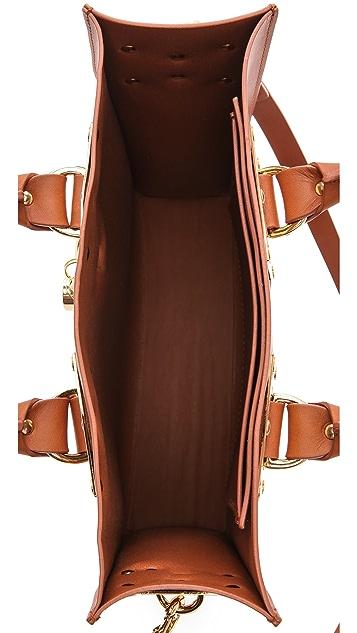 Sophie Hulme Mini Tote Bag