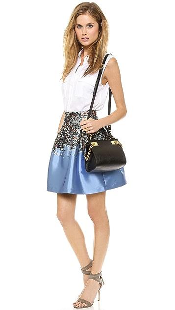 Sophie Hulme Mini Chain Side Shopper Bag