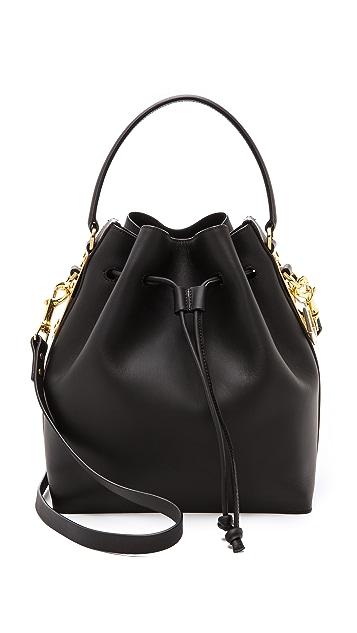 Sophie Hulme Large Drawstring Bucket Bag