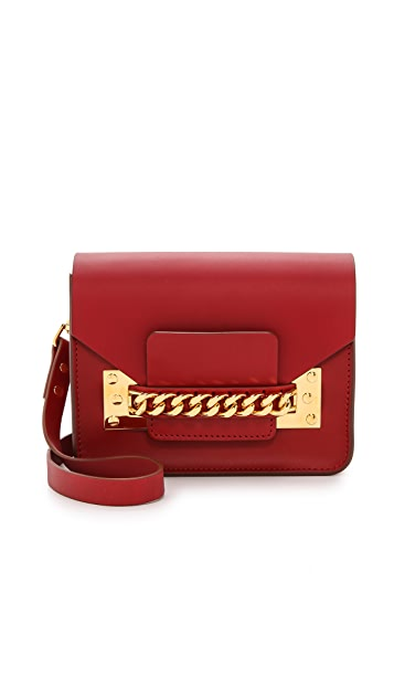 Sophie Hulme Chain Mini Envelope Bag