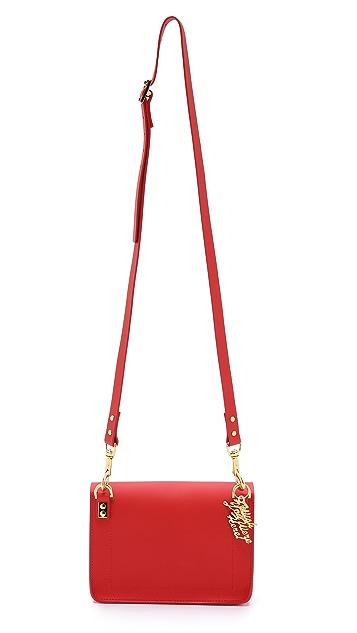 Sophie Hulme Colorblock Mini Envelope Bag