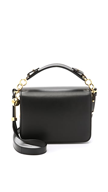 Sophie Hulme Structured Cross Body Messenger Bag