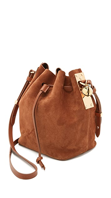Sophie Hulme Small Drawstring Bucket Bag