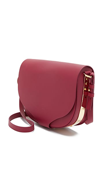 Sophie Hulme Medium Saddle Bag