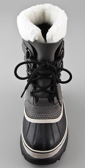 Sorel Caribou Lace Up Boots