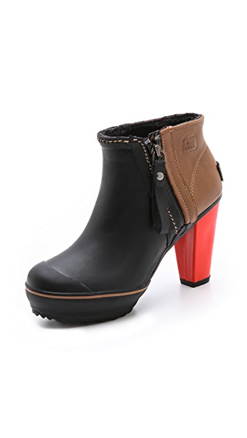Sorel Medina Rain Ankle Booties