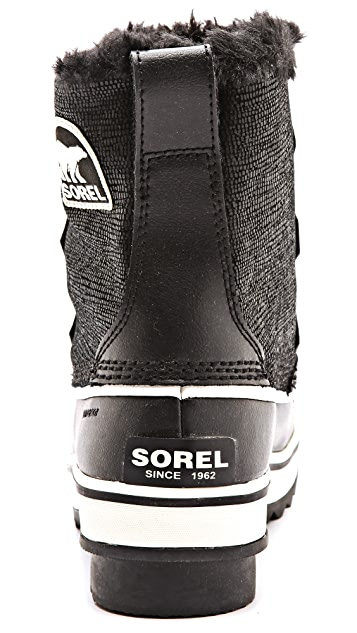 Sorel Tivoli Suede Faux Fur Booties