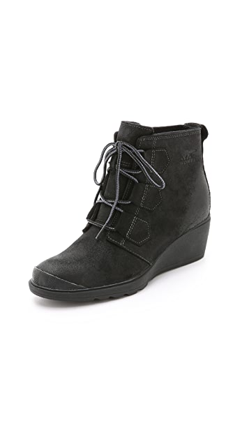 20c53a0f474b Sorel Toronto Lace Wedge Booties