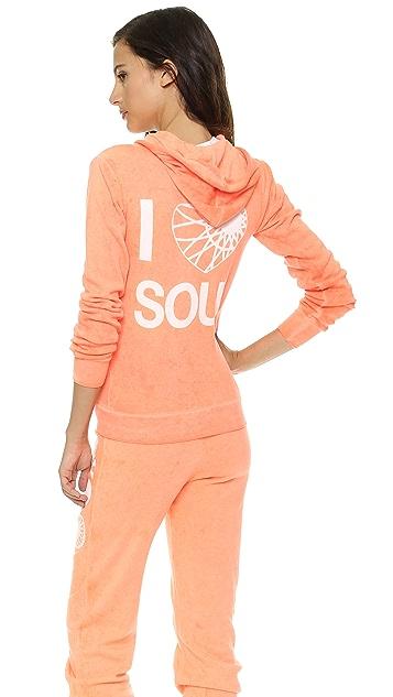 SoulCycle Heart Soul Zip Hoodie