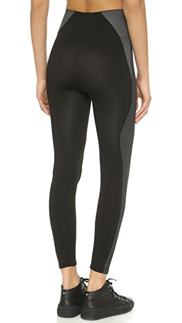 e9df45ea0cc6ab SPANX Cropped Athletic Seamless Leggings; SPANX Cropped Athletic Seamless  Leggings ...