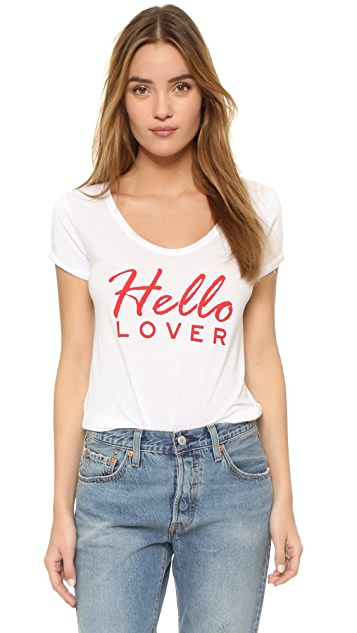 South Parade Hello Lover Tee